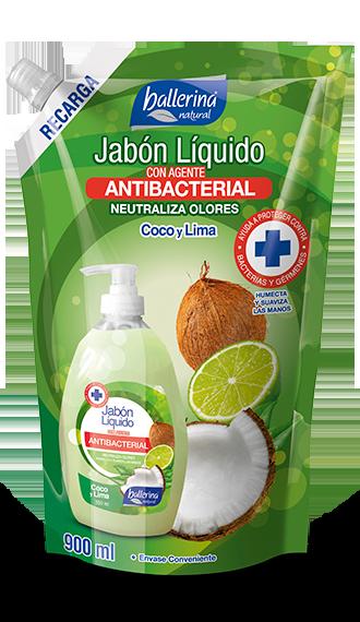 Jabón Coco y Lima