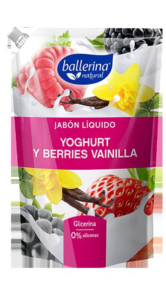 Jabón Yoghurt y Berries Vainilla
