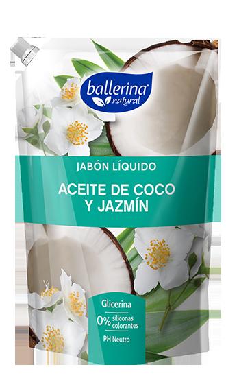 Jabón Líquido Aceite De Coco y Jazmín