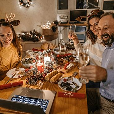Diciembre: Celebrando con precaución